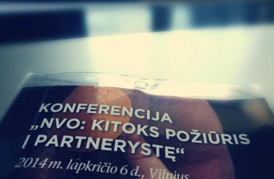 """AUŠVIO atstovai sėmėsi žinių konferencijoje """"NVO: kitoks požiūris į partnerystę"""""""